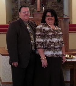 Pastor Kerns and Wife Sis. Donna
