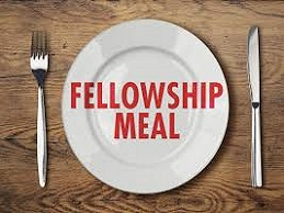 1st Sunday Fellowship Meal